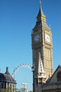 [Lynn Jamison] Big Ben, the famous clocktower, is one of the many sights Study Abroad students can see while attending classes in London.