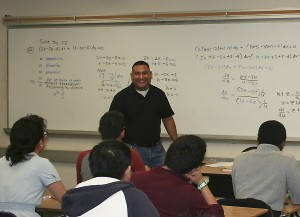 Jesus Gutierrez brings excitement and interest to the world of math.