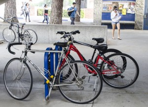 Bike thefts are down at Citrus, but up nationwide. (Cole Petersen / Citrus College Clarion)
