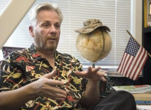 Bruce Solheim will be honored as a distinguished faculty member for the 2012-13 school year.