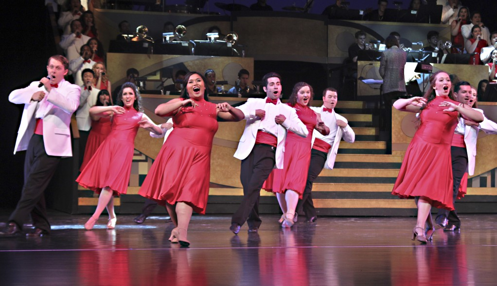 At times, the Citrus Singers were in sync during their May 18 performance. Too often, they were not. (Alyssa Bujanda / Citrus College Clarion)