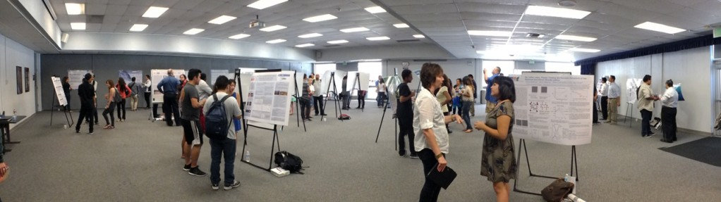 Citrus students and faculty come together to review the research performed by STEM students over the summer of 2013.