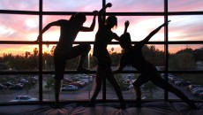 Tiffany Waniczek, Lisa Lopez and Haihua Chiang show their passion and commitment to dance from sun up to sun down. (Alyssa Bujanda / Citrus College Clarion)