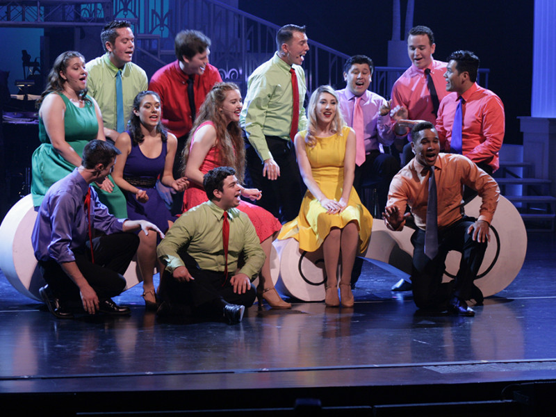 """The Citrus Singers perform a """"Top of the Charts"""" medley in the first act of the show. The second act featured songs from classic plays like """"Singin' in the Rain"""" and """"Wicked."""""""